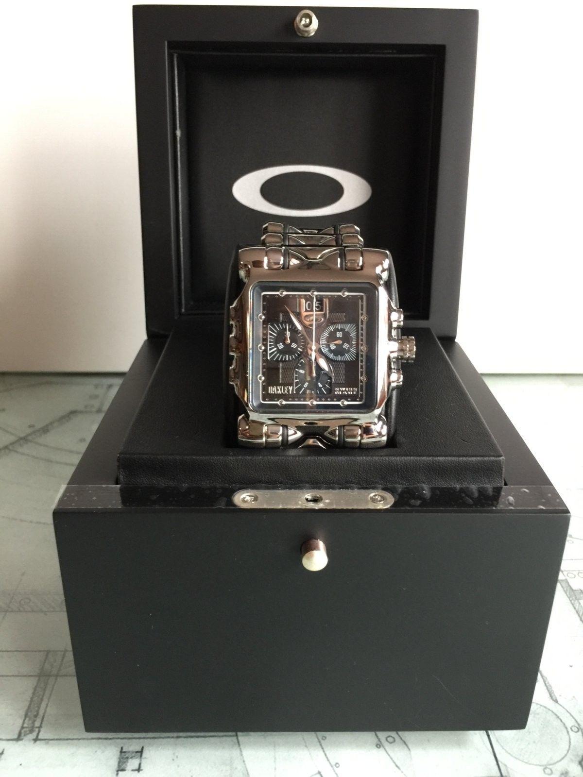 LNIB Polished Black Dial Minute Machine watch - IMG_6072.JPG