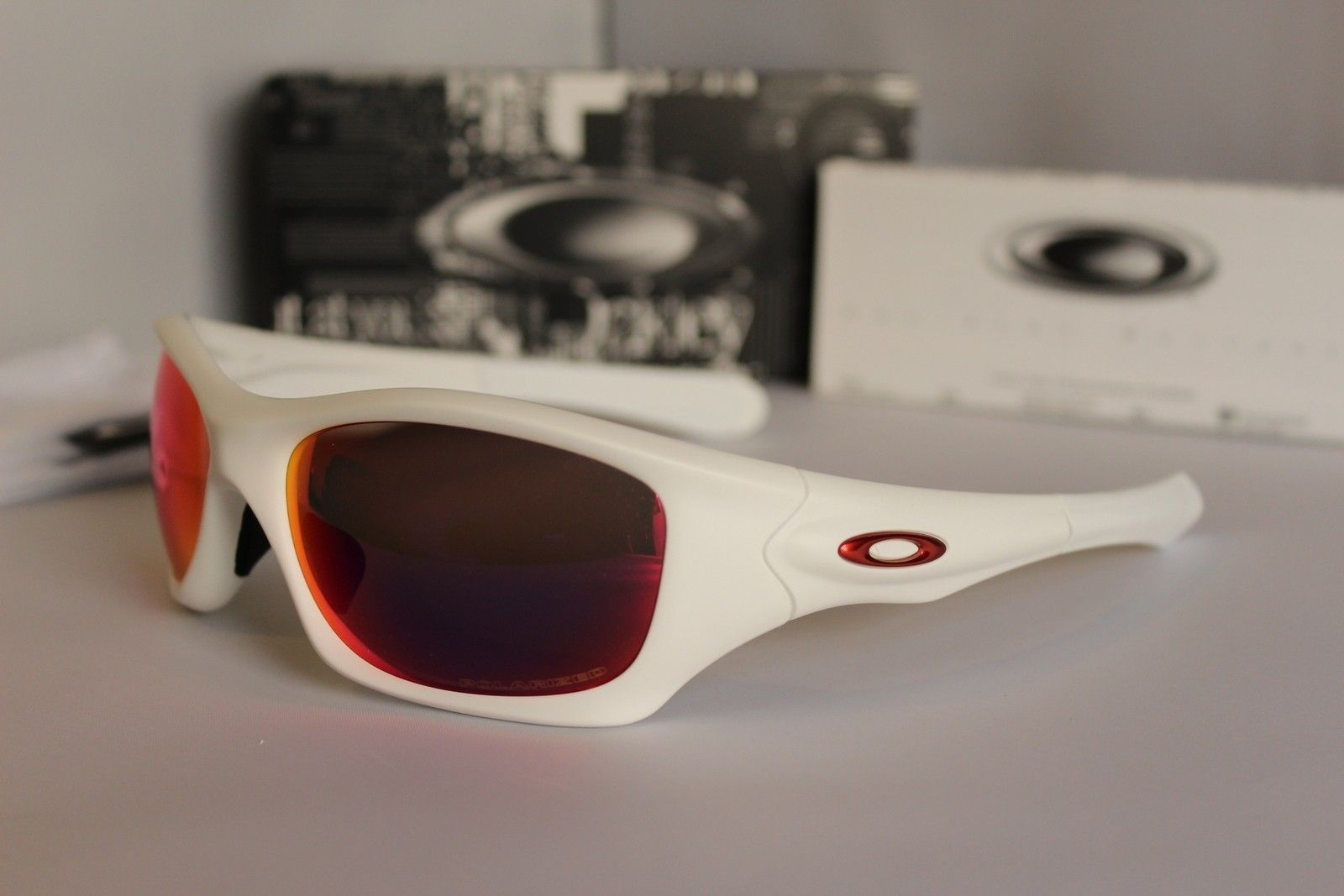 (2) Pit Bull Gunmetal FMJ/Fire & White/OO Red Polarized - IMG_6141.JPG