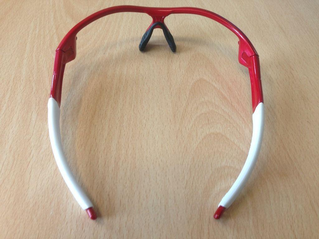 Radar OCP straight stem frame metallic red white rubber - IMG_6205_zpsgpabw8nf.jpg