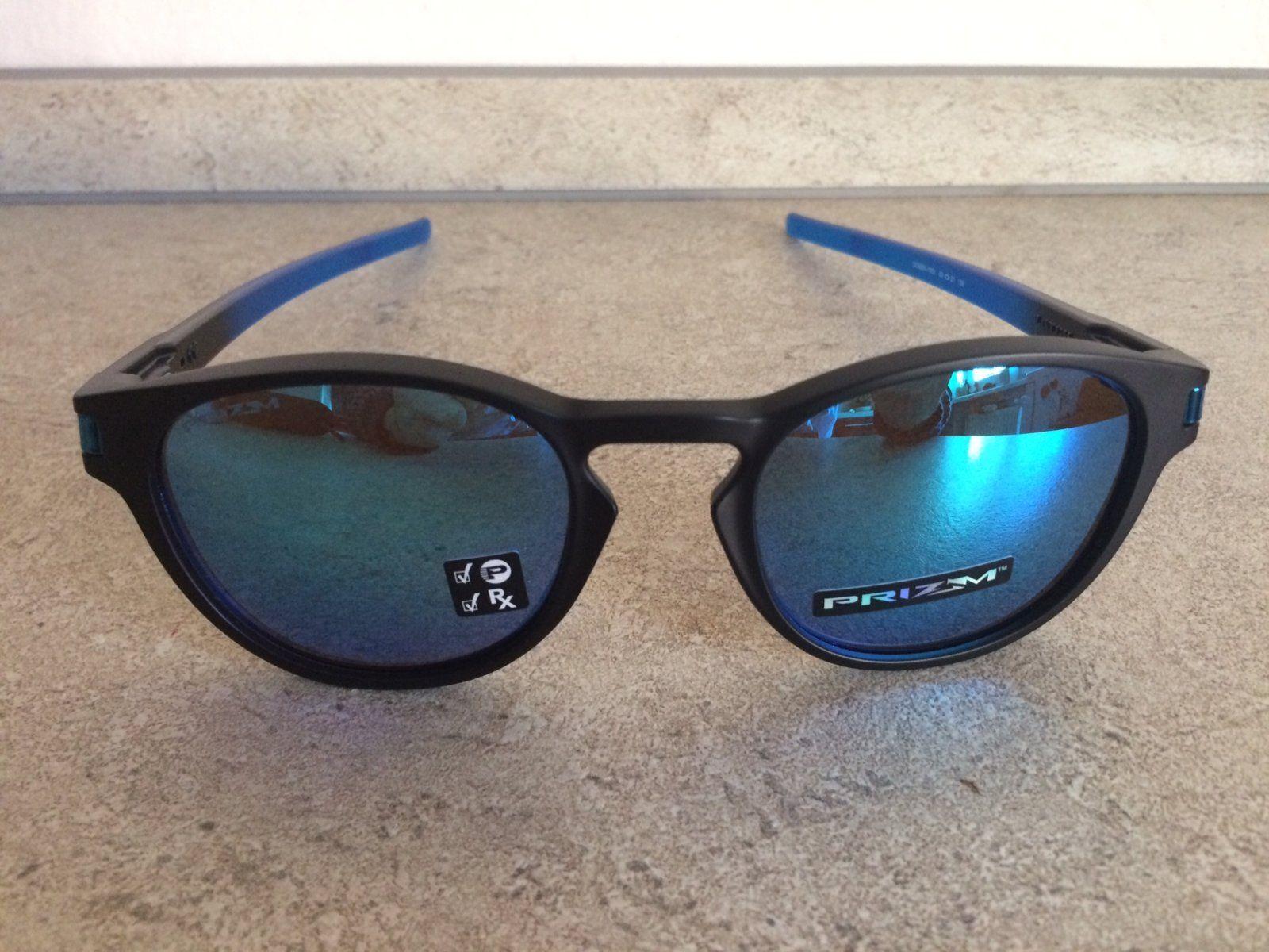 ea01a544a5 For Sale - Oakley Latch Sapphire Fade Prizm Sapphire Polarized ...