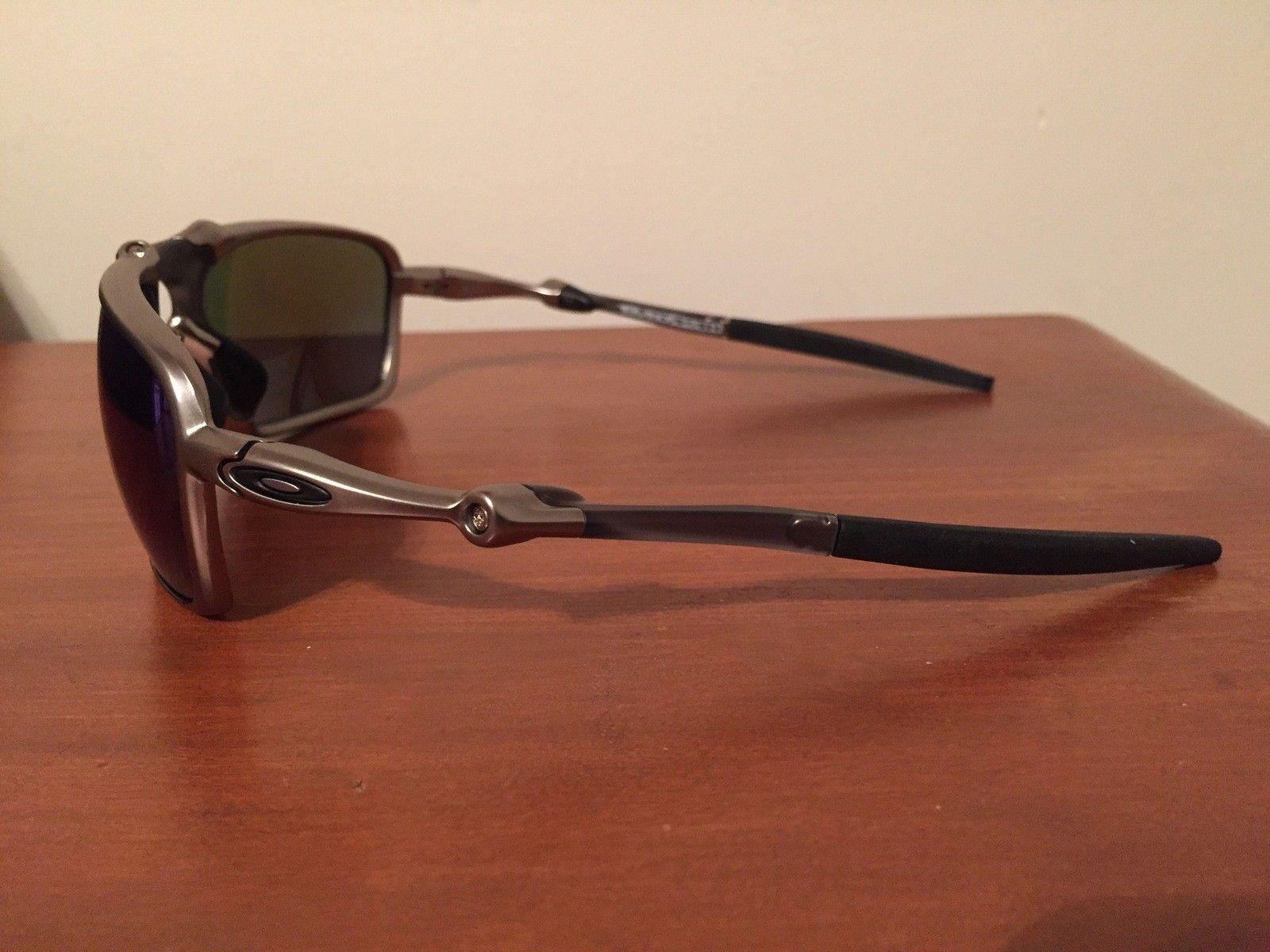 NEW Oakley Badman Sapphire Irid Polarized - IMG_6557.JPG