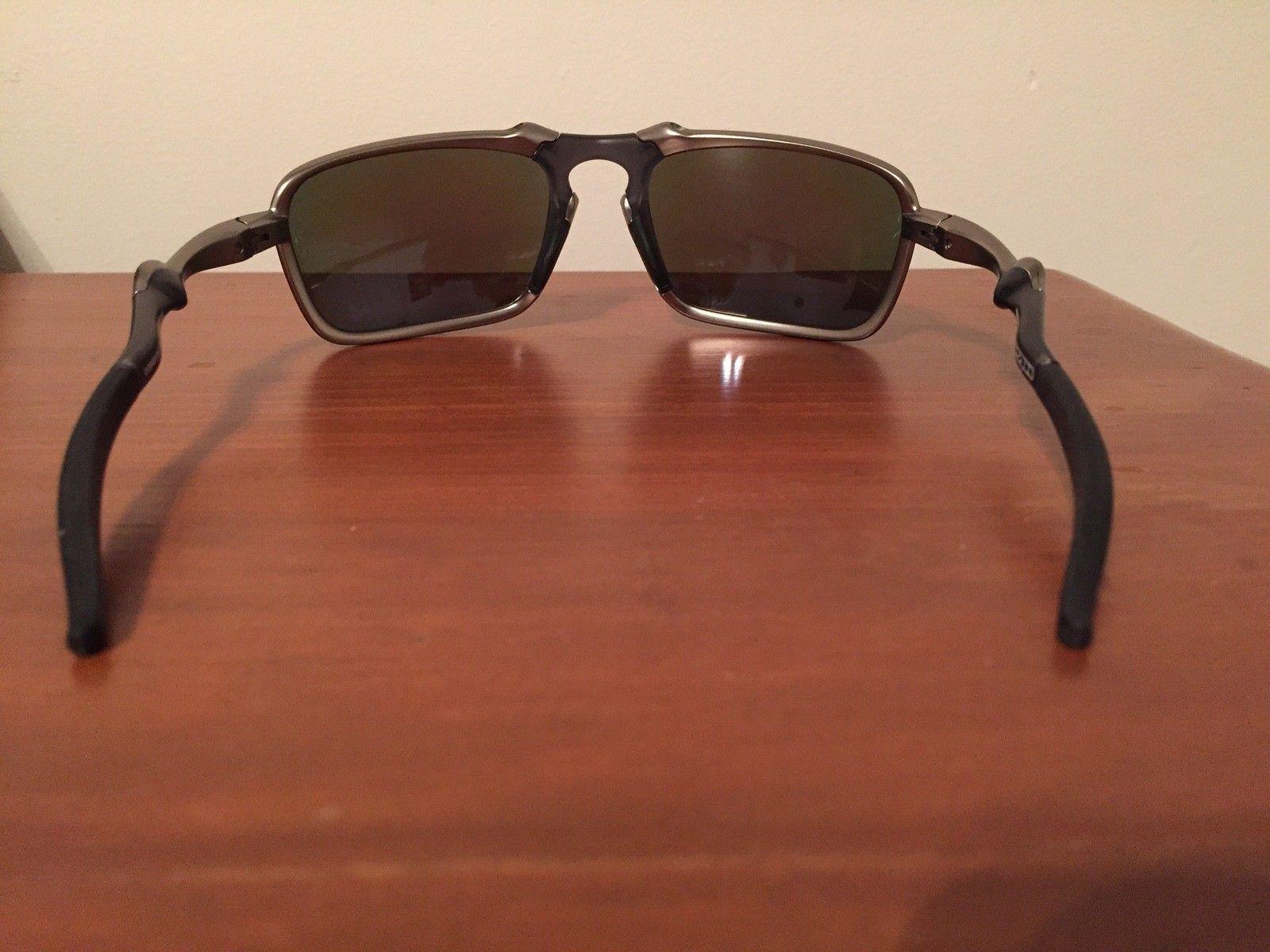 NEW Oakley Badman Sapphire Irid Polarized - IMG_6558.JPG