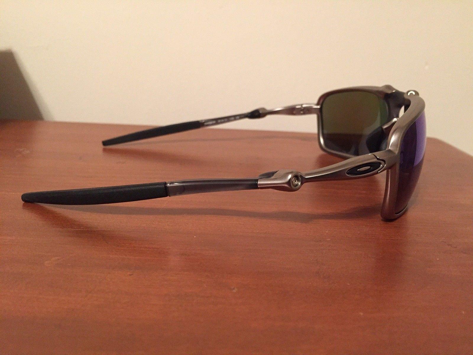 NEW Oakley Badman Sapphire Irid Polarized - IMG_6559.JPG