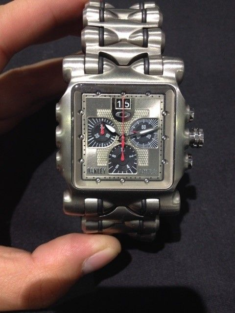 Oakley watches minute machine, hollow point all new with boxes - IMG_6773.jpg