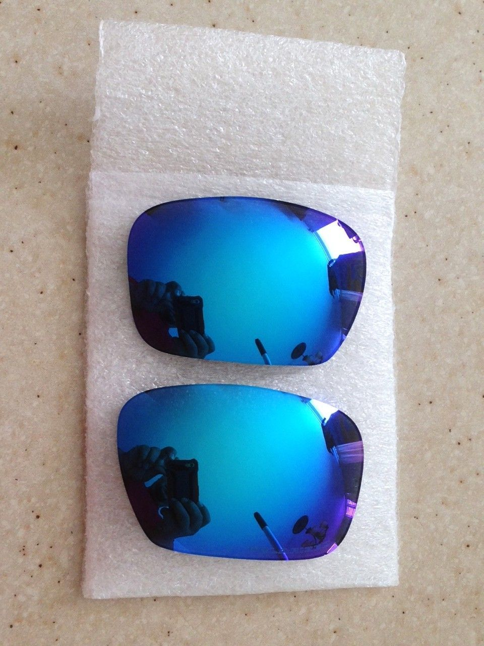 NEW GENUINE OAKLEY X-METAL BADMAN POLARIZED SAPPHIRE LENSES *PRICE DROPPED* - IMG_7135.JPG