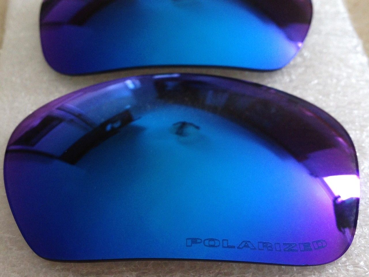 NEW GENUINE OAKLEY X-METAL BADMAN POLARIZED SAPPHIRE LENSES *PRICE DROPPED* - IMG_7137.JPG