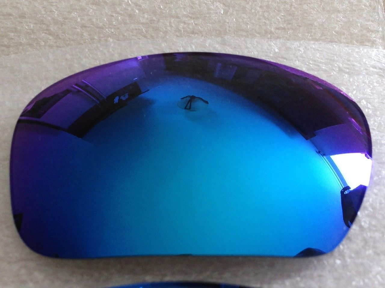 NEW GENUINE OAKLEY X-METAL BADMAN POLARIZED SAPPHIRE LENSES *PRICE DROPPED* - IMG_7138.JPG