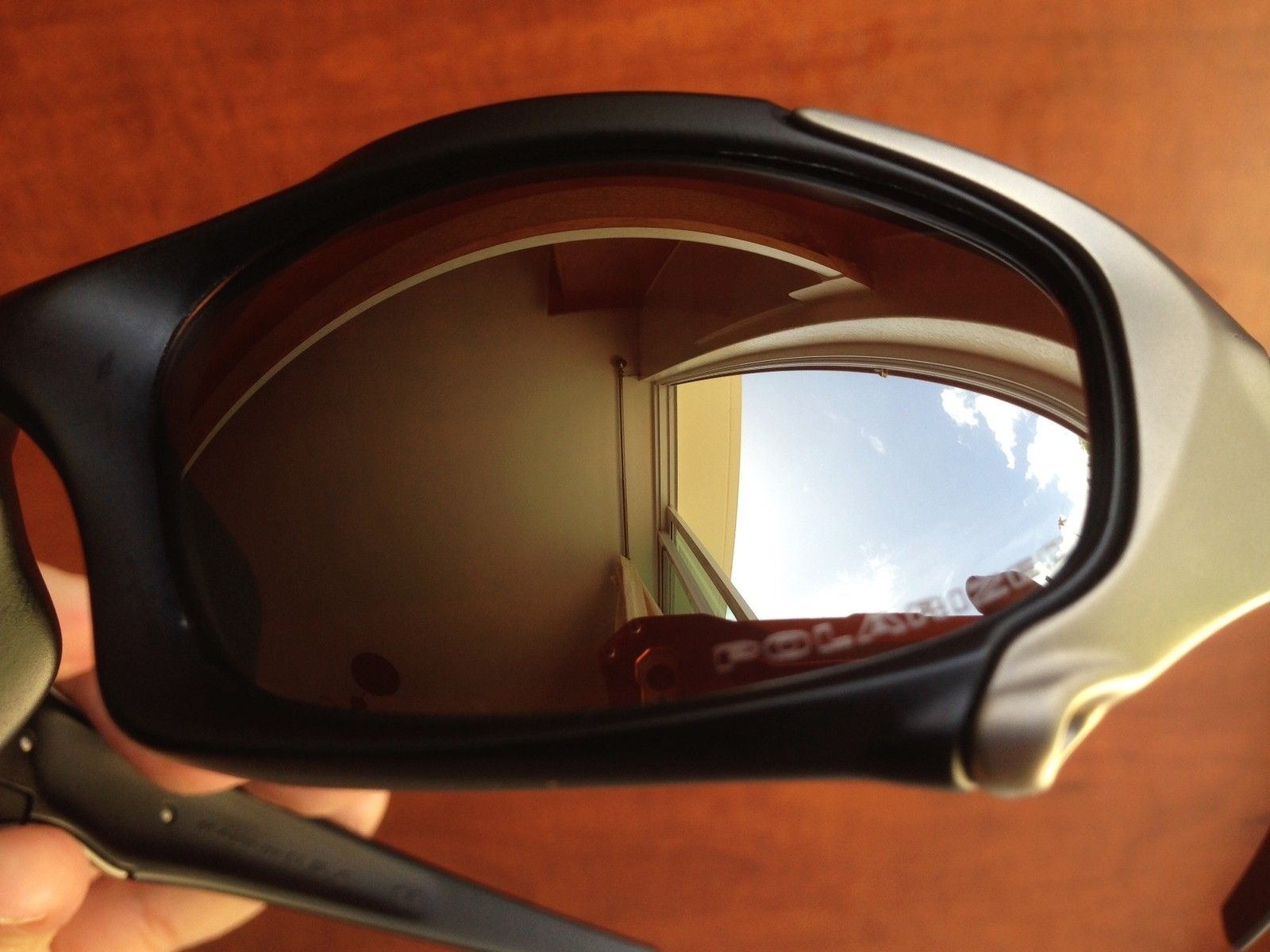OAKLEY ELITE PIT BOSS 1 MATTE BLACK / TITANIUM / POL BLACK IRIDIUM SUNGLASSES OR TRADE ROMEO 1 - IMG_7237.JPG