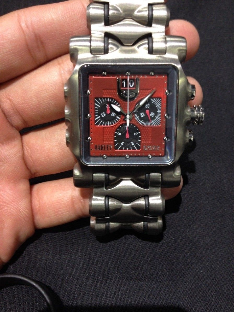 Oakley watches minute machine, hollow point all new with boxes - IMG_7522.jpg
