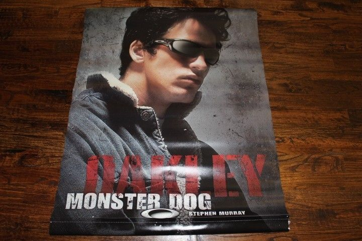 Stephen Murray Monster Dog Vinyl Poster - IMG_7777.JPG