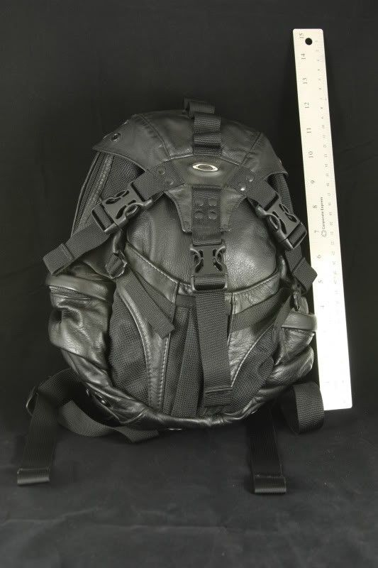 FS: Leather Small Icon 1.0 Black Backpack - IMG_7779.jpg