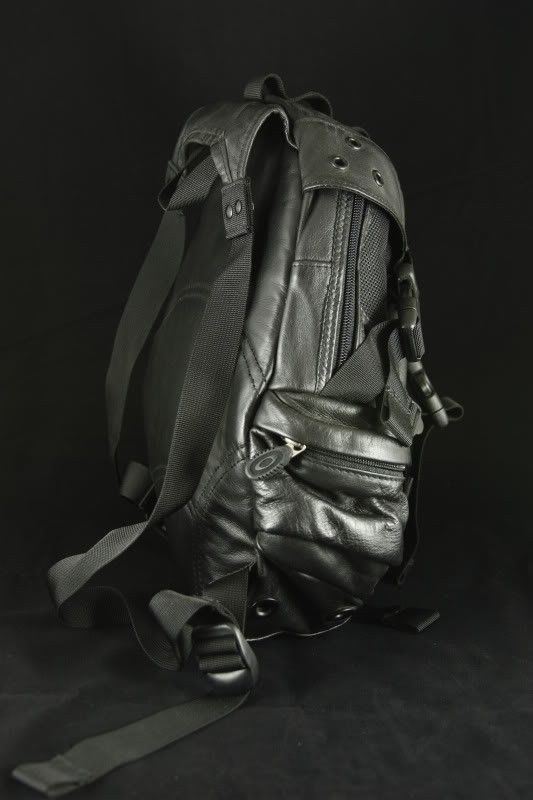 FS: Leather Small Icon 1.0 Black Backpack - IMG_7780.jpg