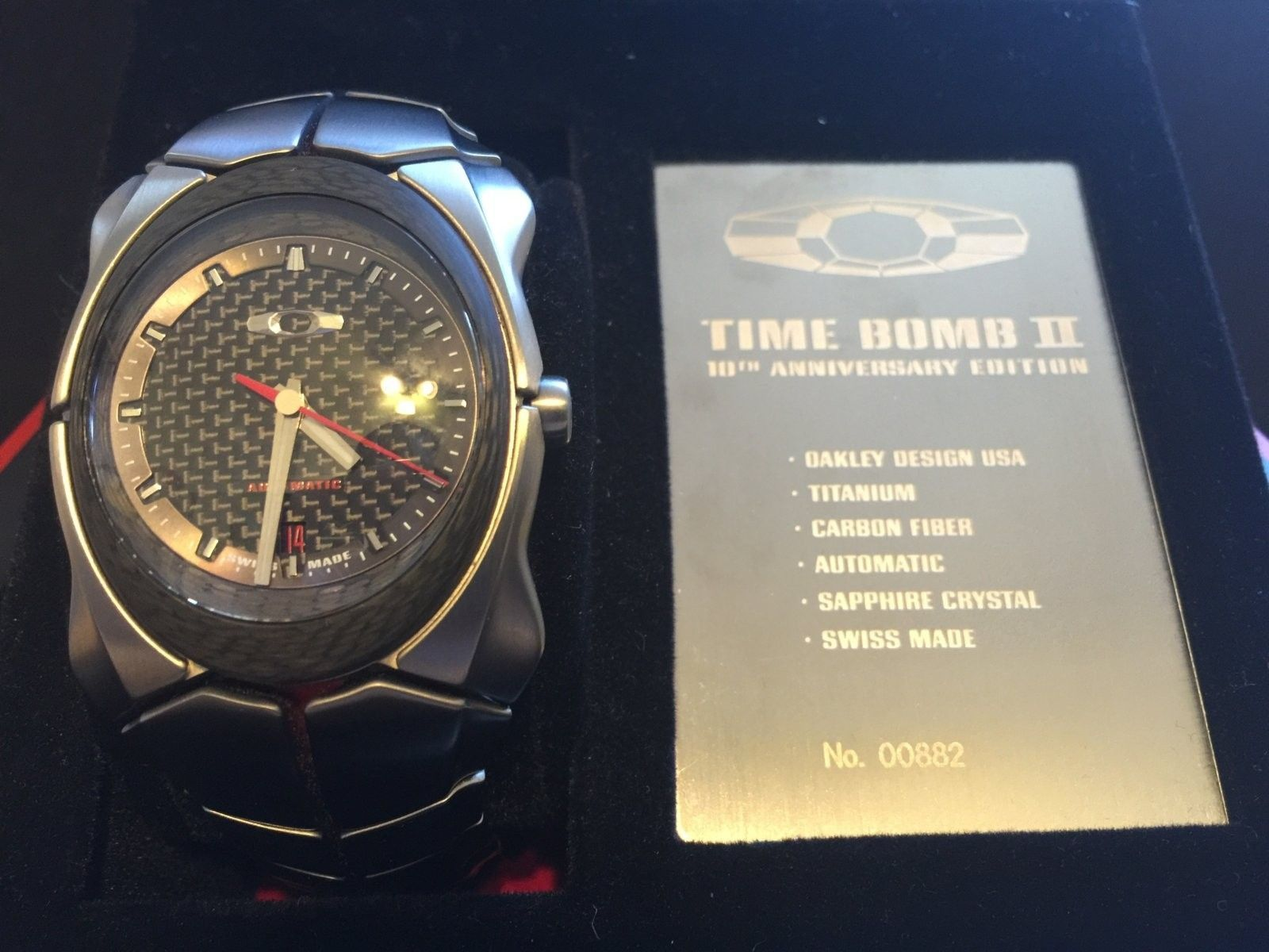 Time Bomb 2 (10th Anniversary) with Extra Unobtainium Strap - IMG_7797.JPG