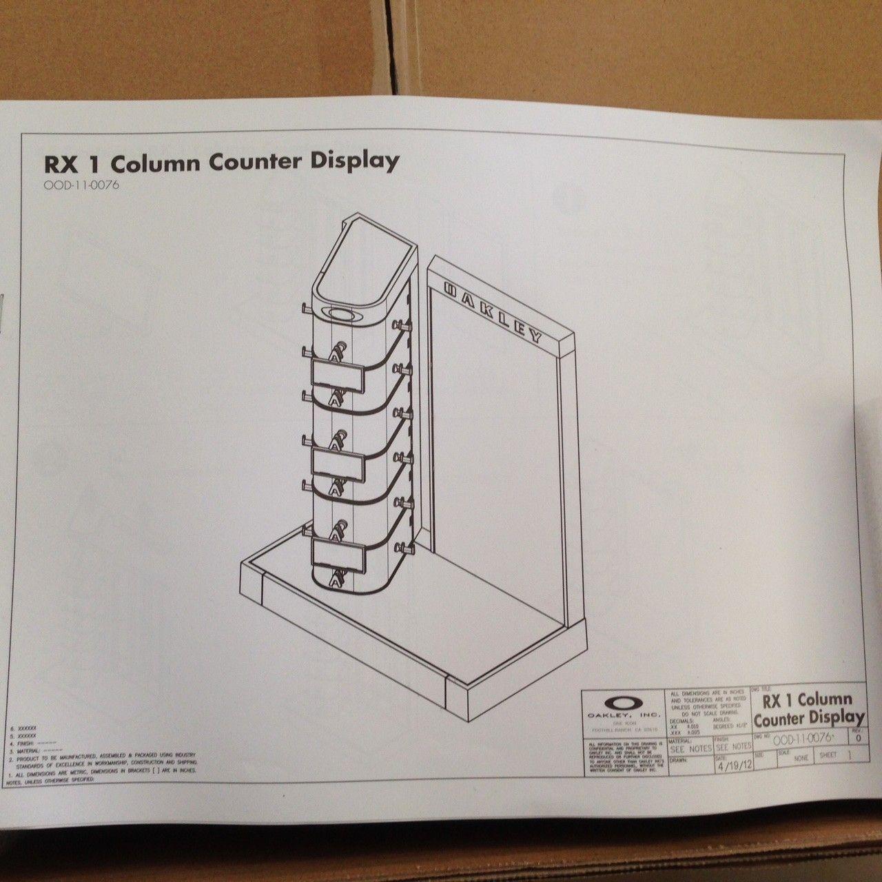 New in Box Oakley Counter Display - IMG_7805.JPG