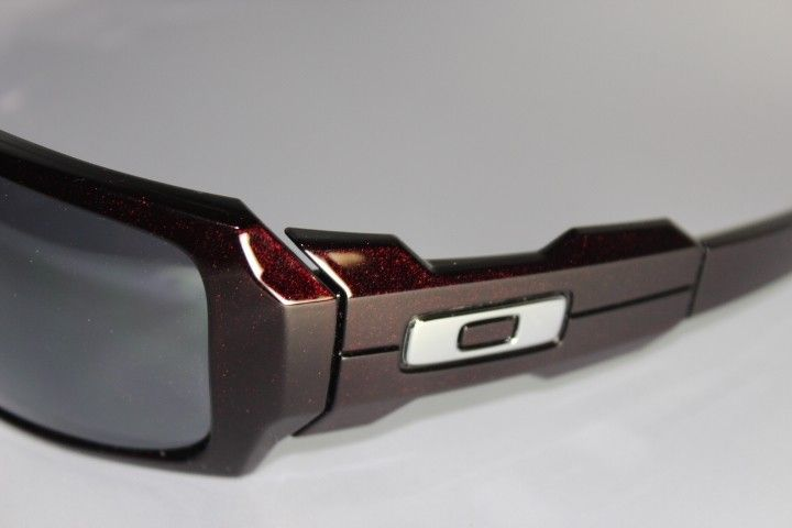 red and black oakleys  Sold - Oil Drum Cinder Red/Black Iridium