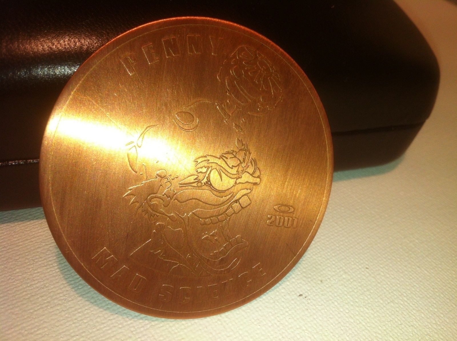 """OAKLEY PENNY  COIN 2001 """"MAD SCIENTIST""""   {SOLD} - IMG_8099.JPG"""