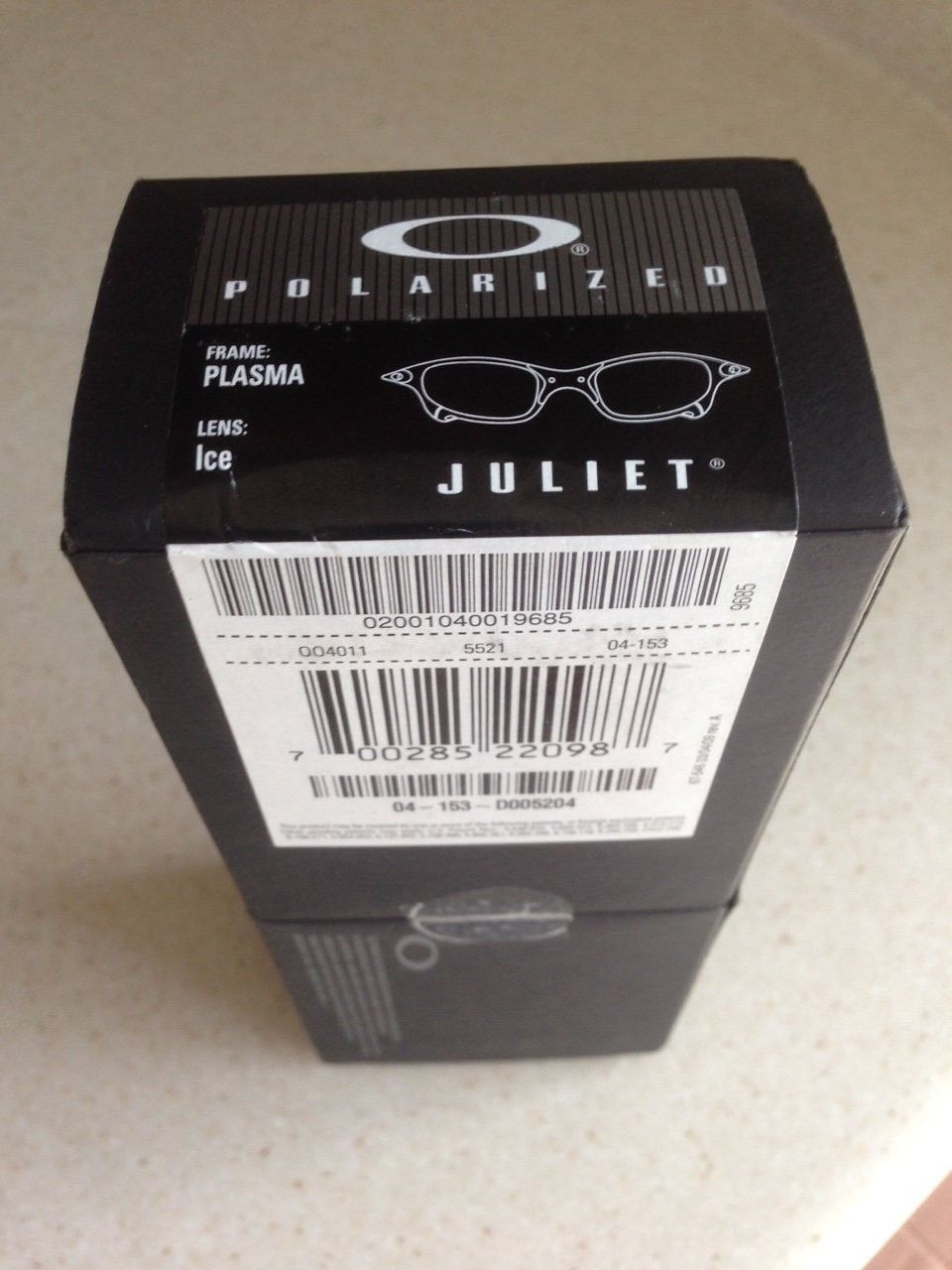 Juliet Plasma / Polarized Ice Complete Set Box, Coin, Papers Near Mint - IMG_8270.JPG