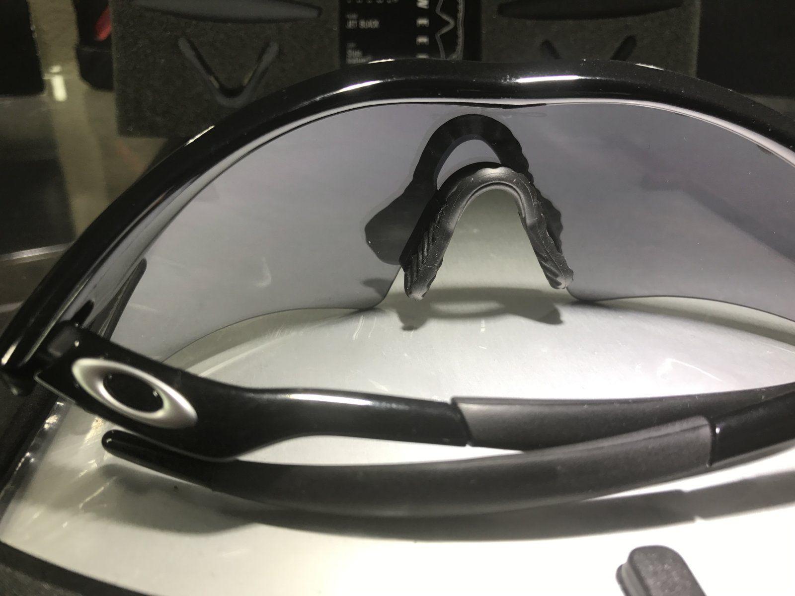 M-Frame Sweep jet Black w/ slatte Iridium SKU: 09-608 + 2 set of new oem rubbers - IMG_8331.JPG