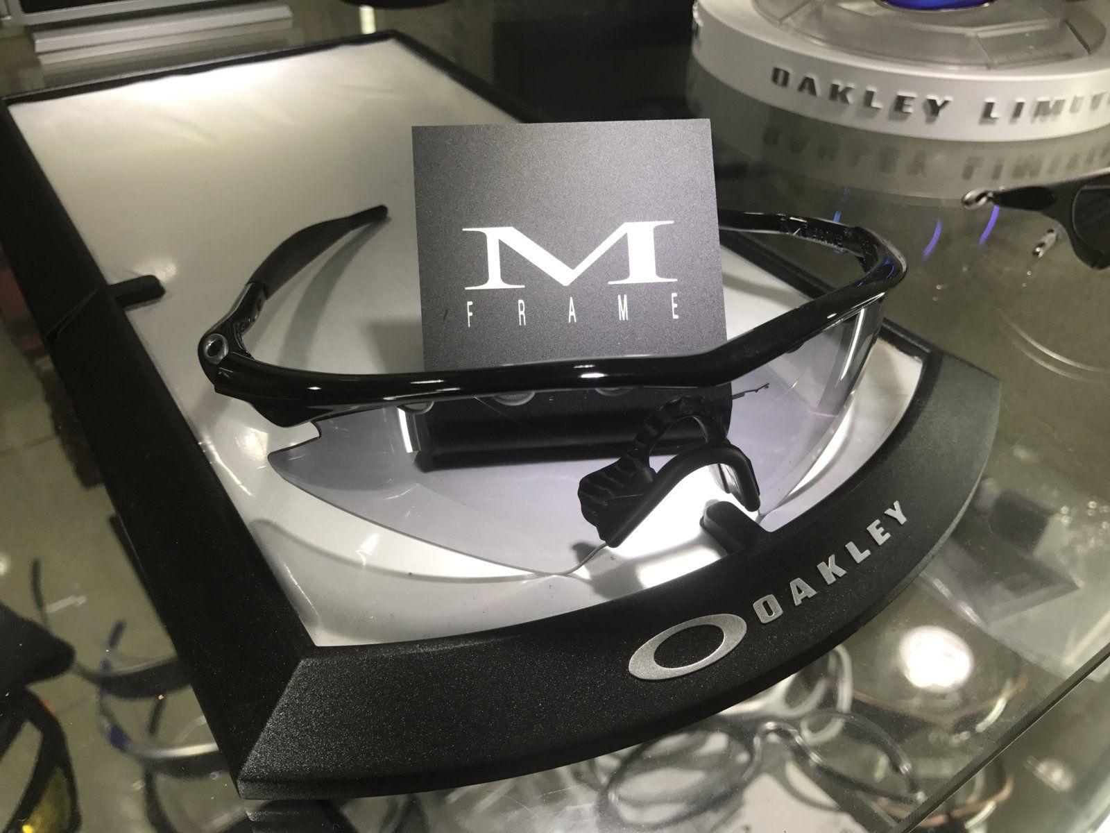 M-Frame Sweep jet Black w/ slatte Iridium SKU: 09-608 + 2 set of new oem rubbers - IMG_8352.JPG