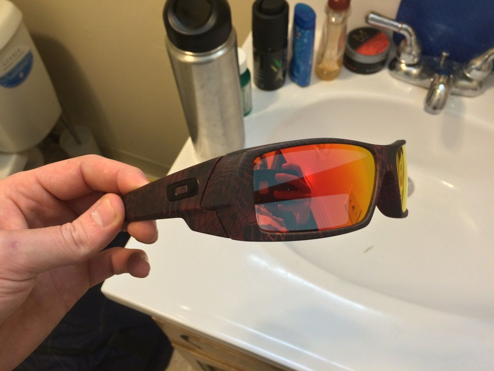 Or Trade: Custom Hydro-Dipped 'Red Cryptic' Gascan - IMG_8599.JPG