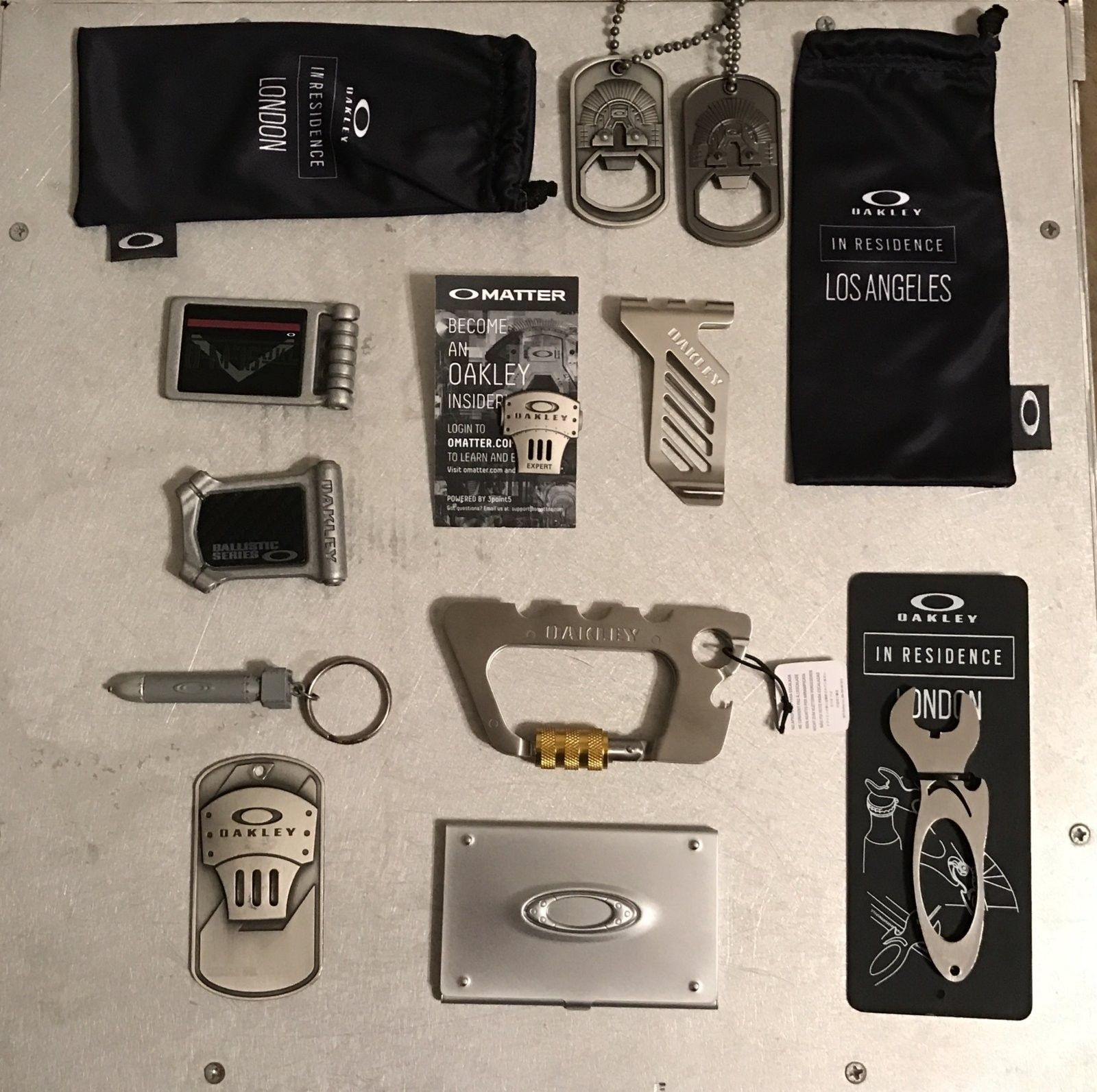 $80 BUNDLE: Accessories, Money Clips, Metal Goods, Dog Tags, etc - IMG_9079.JPG