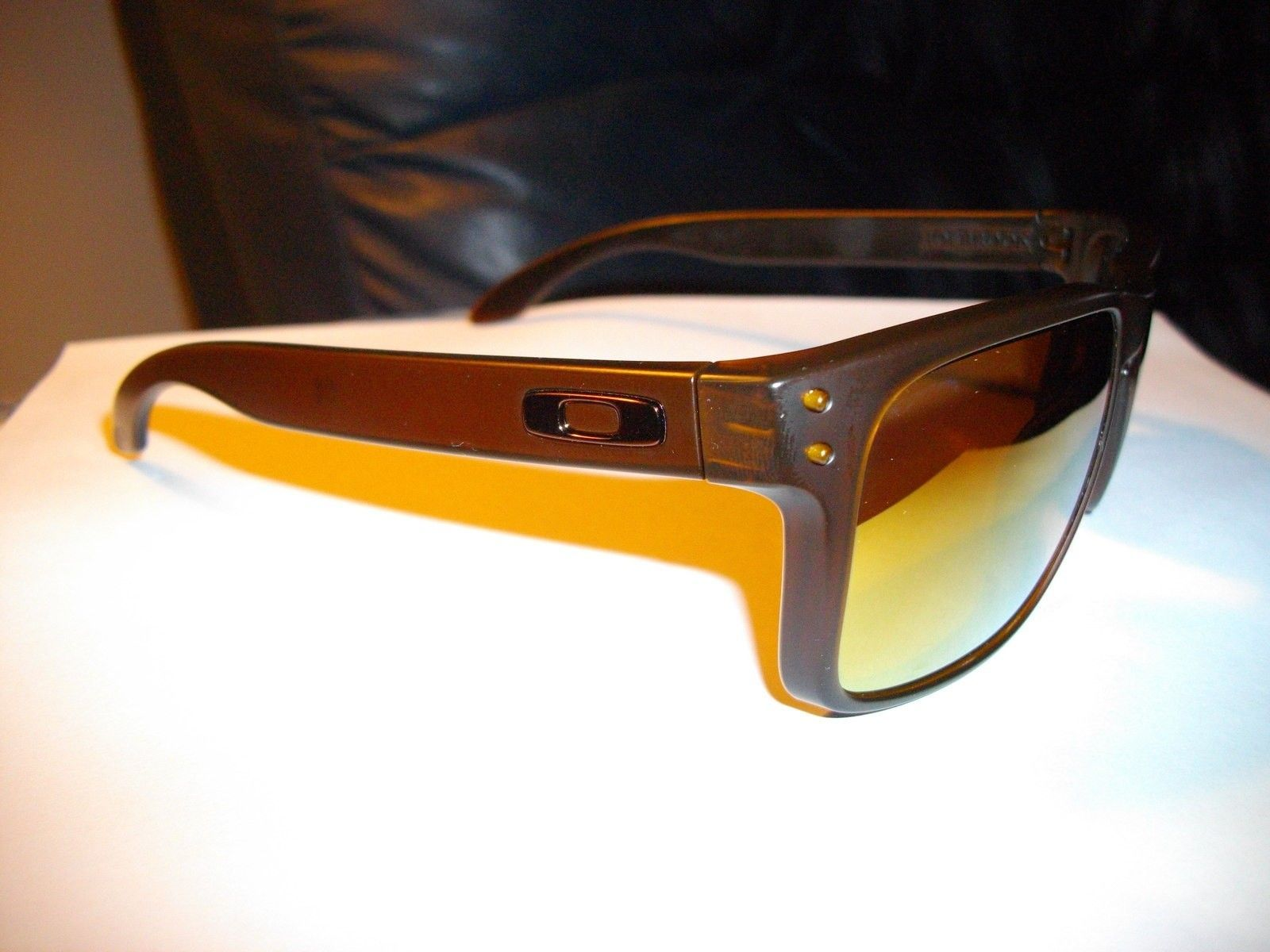 New custom matte brown Holbrook / 24k lens - IMGP0010.JPG