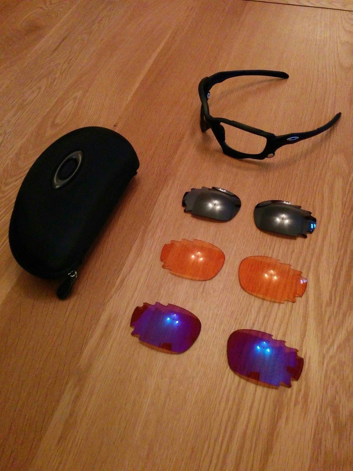 Matt Black Oakley Jawbones, case and lenses - Jawbone.jpg