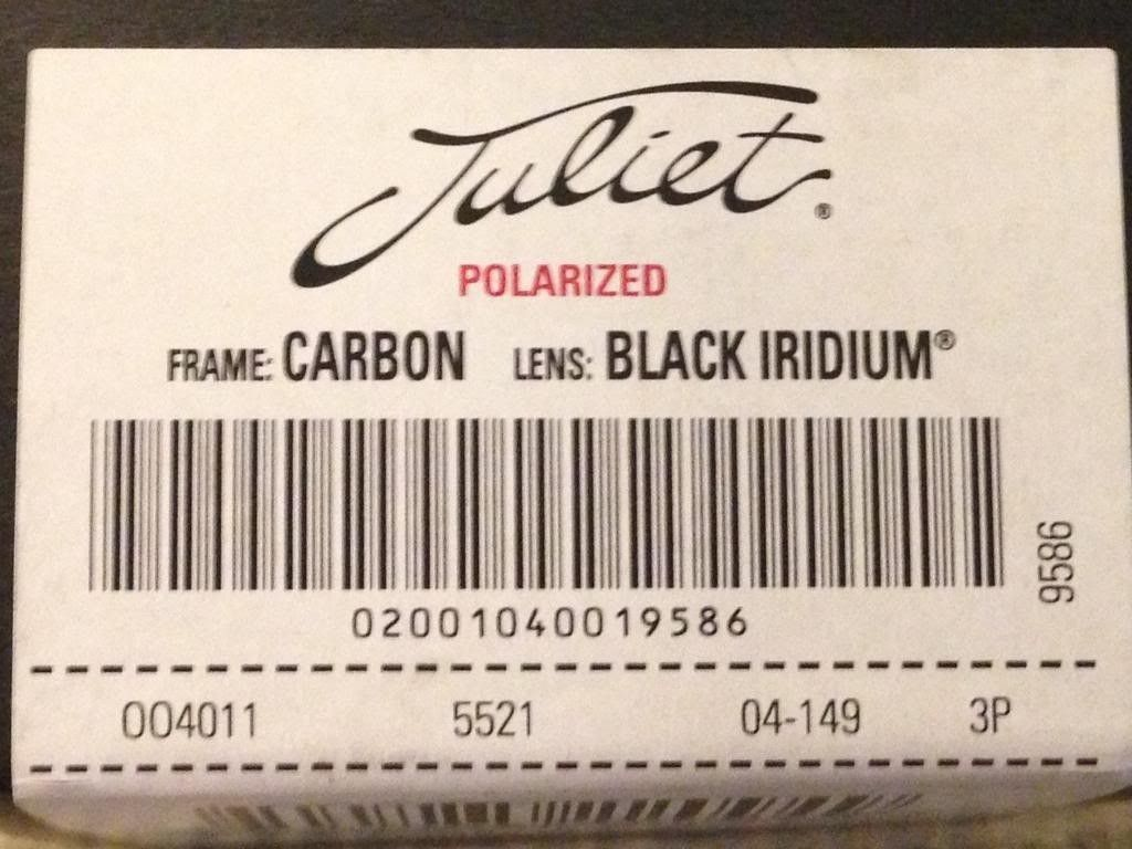 New Purchase Today - Juliet - Carbon Black Iridium Polarized - Juliet3_zpsb2f6daf7.jpg