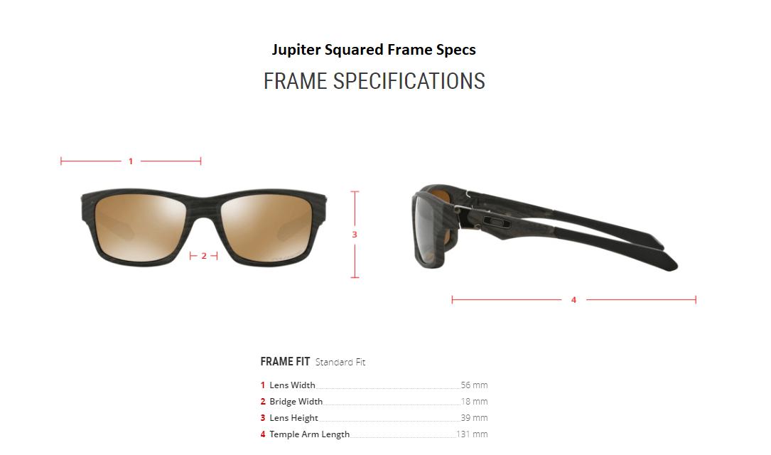 official store oakley jupiter squared measurements 966f8 6af0e rh lauraundleon com