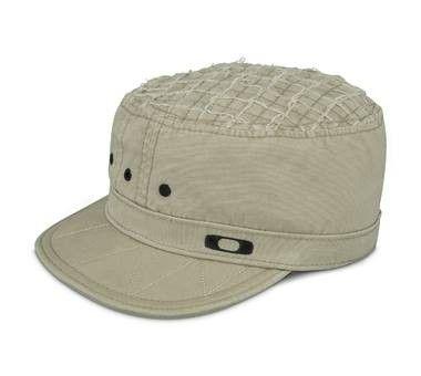 Military Style Oakley Cap - khaki.jpg