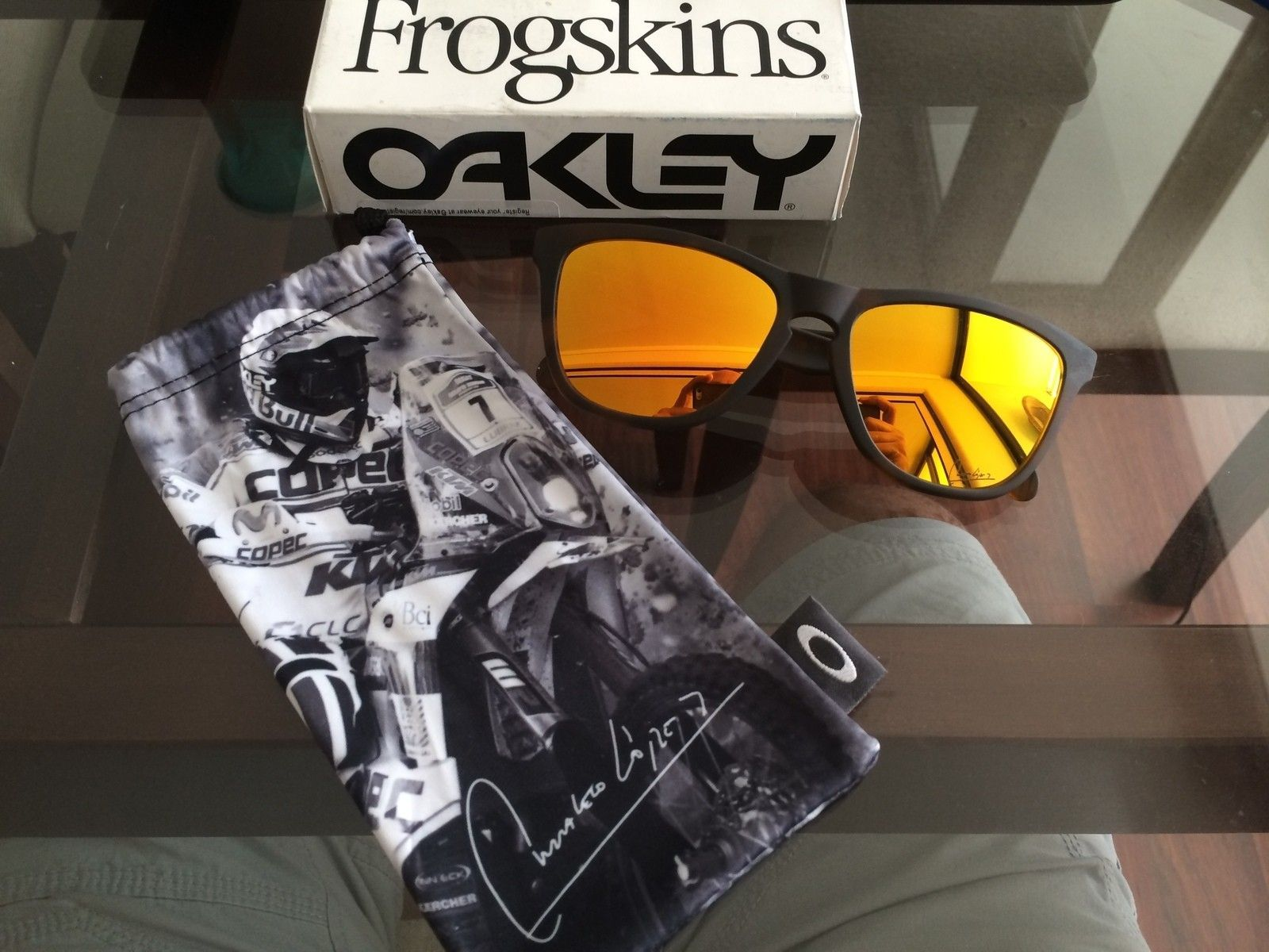 """Frogskins Fallout Collection """"Chaleco Lopez Signature serie"""" variation - la foto 1.JPG"""
