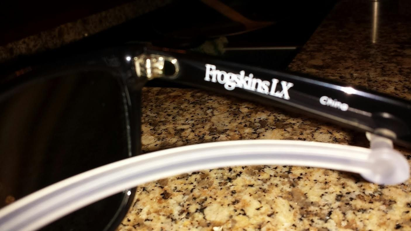 FROGSKINS LX 002043-04 Polished Black/Black Iridium Polarized - LX2.jpe