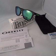 Oakley Matte Black / Jade Iridium Frogskins Sunglasses - m4FyS_kJ1cqX4nPlrCH9k9g.jpg