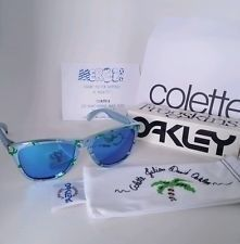 Oakley Colette Julien David Frogskins Blue Chrome Sunglasses Brand New Rare! - m7GVNVpoOx-MSTXepv5UKVQ.jpg