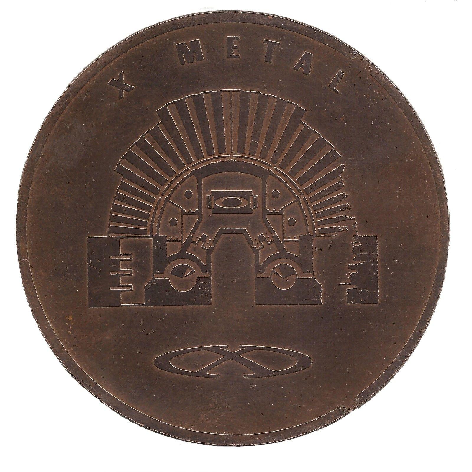 Oakley Penny Copper Coin Specimen - MAD SCIENCE ERA 2001 - Mad Science Back.jpg