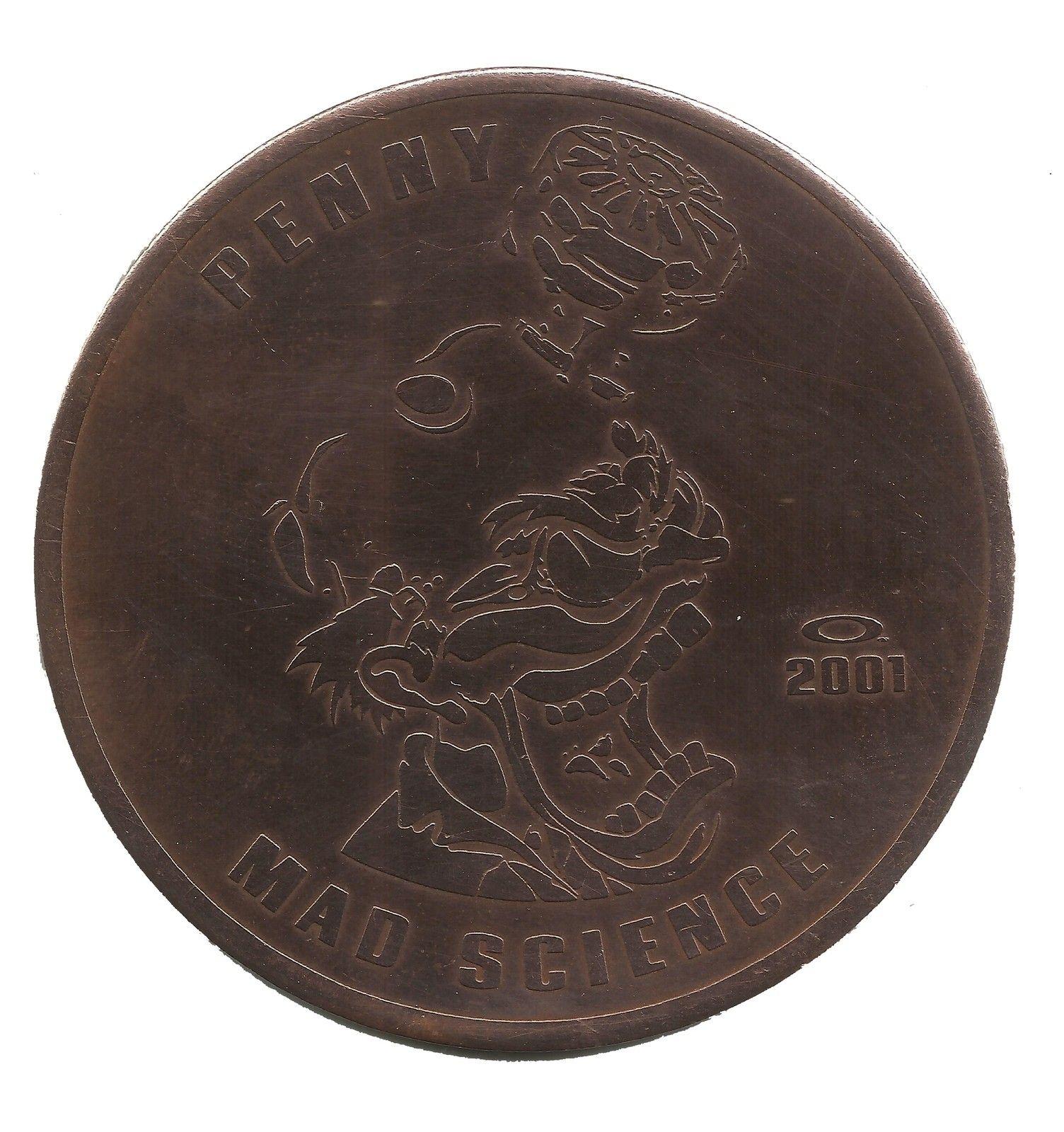 Oakley Penny Copper Coin Specimen - MAD SCIENCE ERA 2001 - Mad Science.jpg