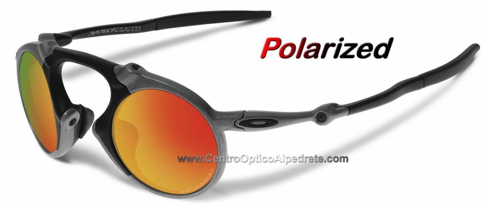 Oakley MadMan XRaw / Fire Iridium Polarized SKU OO6019-01 - madman-sraw-fire-iridium-polarized-oo6019-01.jpg