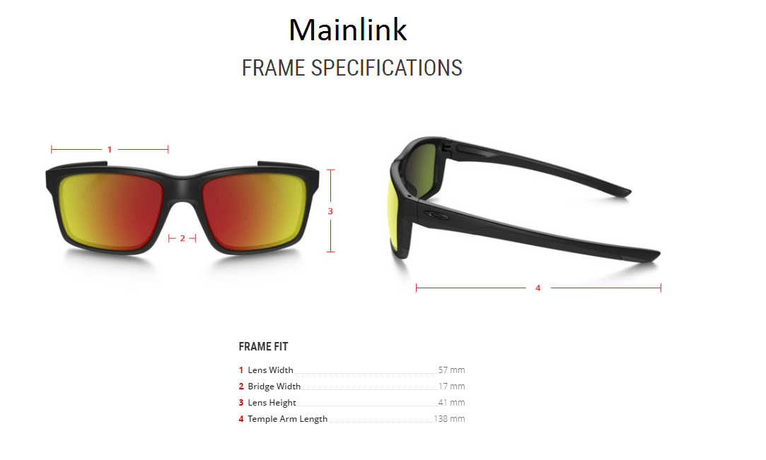 079a544dcf Oakley Chainlink Alternatives  - Mainlink Frame Specs.png