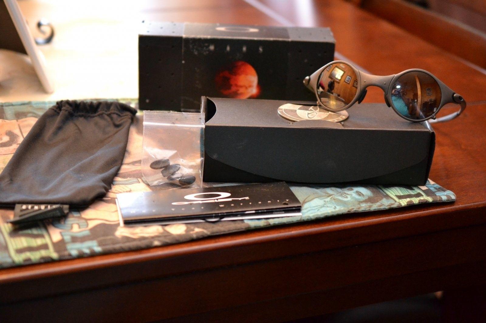 Mars Oakley X-Metal Blk Iridium Sunglasses - Mars Oakley Blk Iridium  (3).JPG