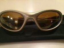 Oakley XX Twenty FMJ Frame Rare Platinum Gold Vintage Sunglasses - mb8yVCzuTeSV_MTT0OQucxA.jpg
