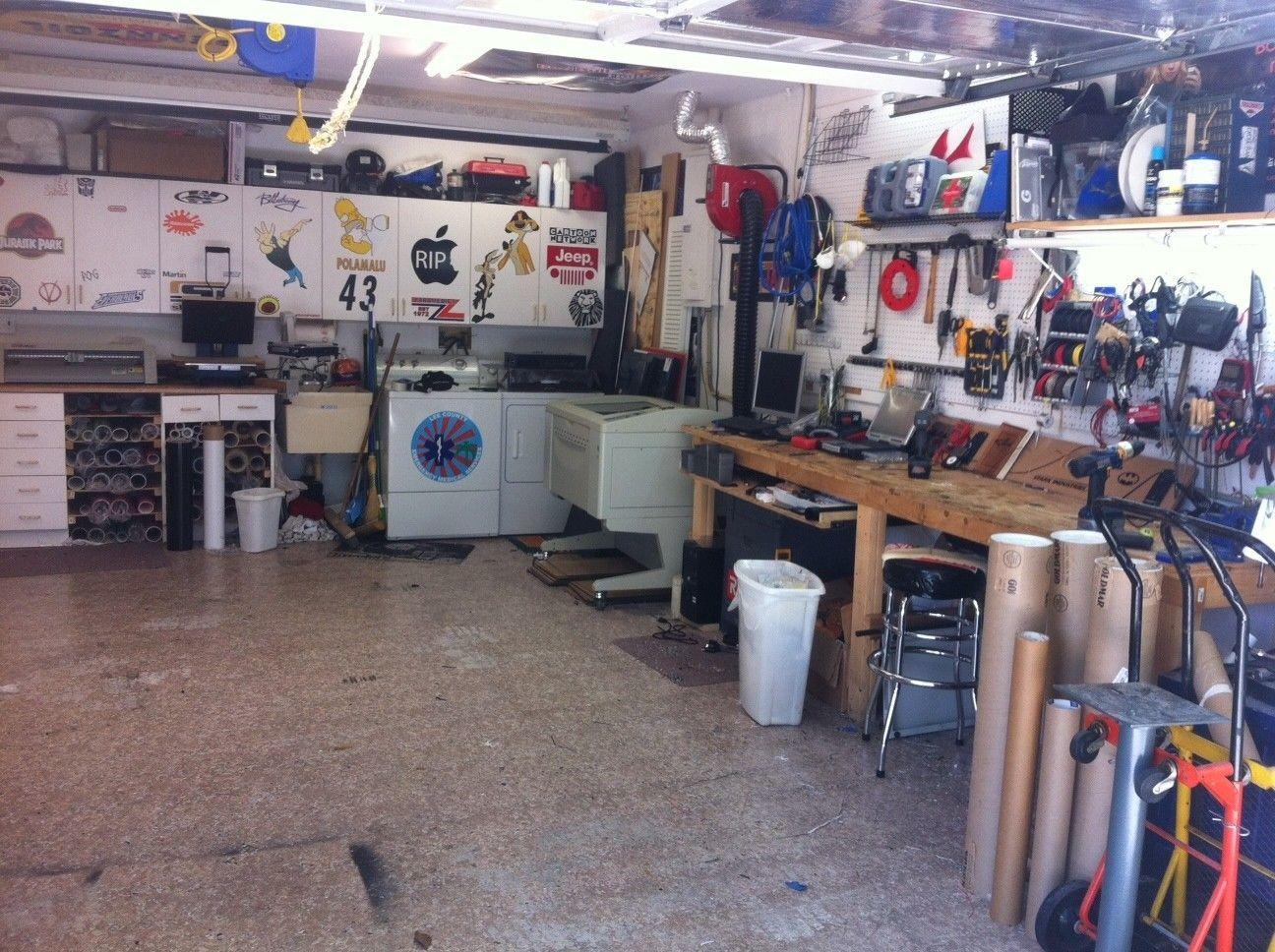 Man Cave Show Carleton Place : Show us your quot mancave workshop garage page oakley