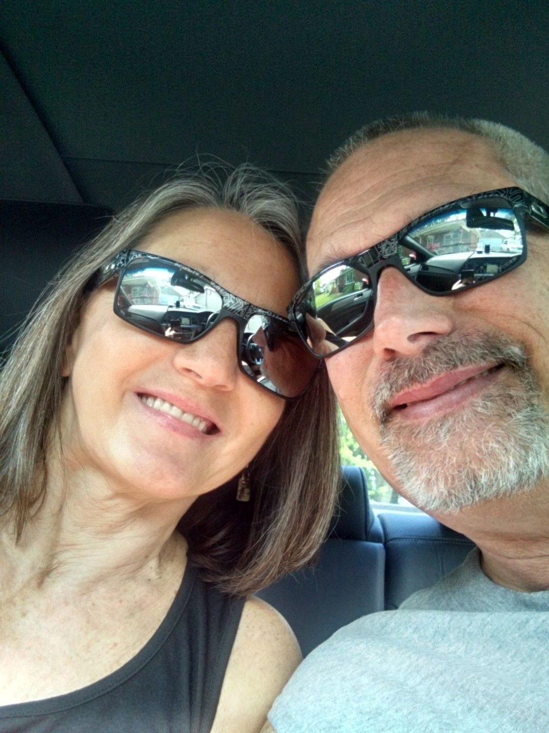 What Oakleys are You and Your Better Half Wearing Today - Me&mom.jpg