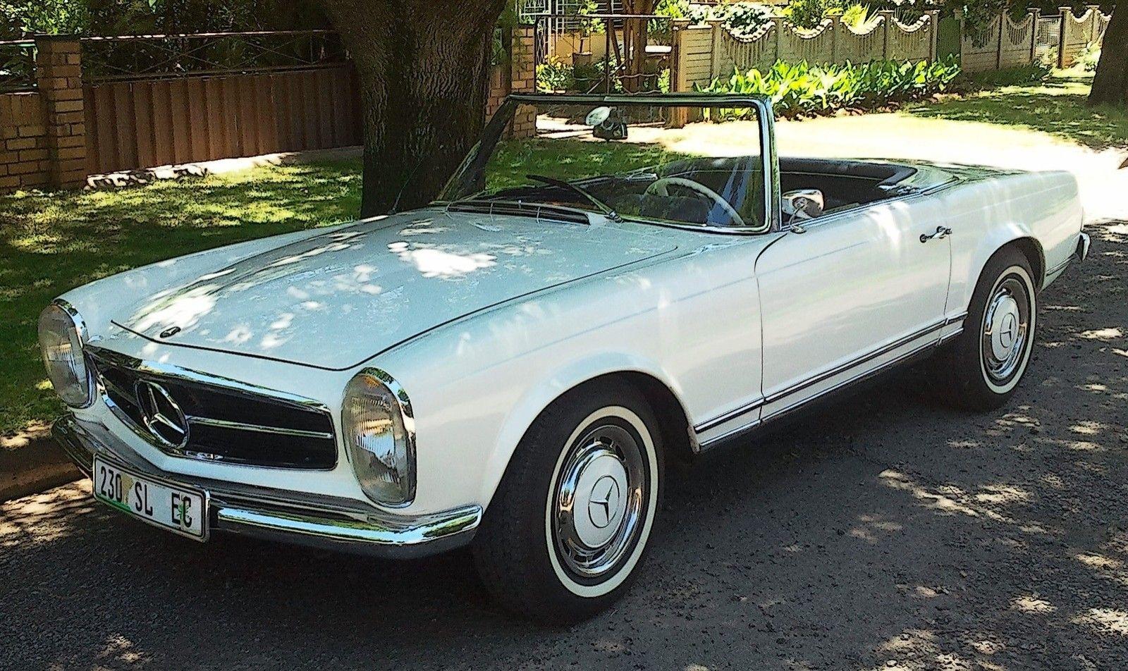 Who owns classic cars? - Mercedes 230SL 1965.jpg