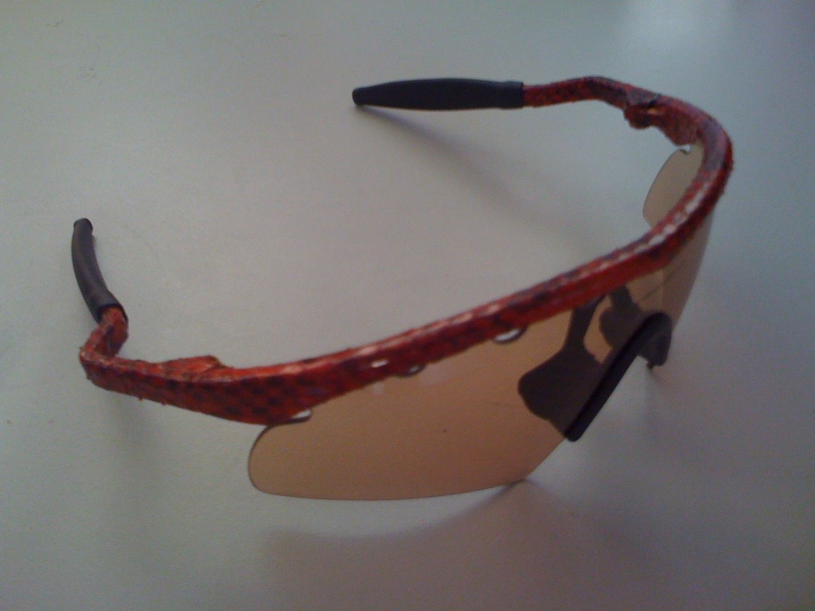 Oakleynerd´s General Purchases - mframewithsnakeskin.jpg