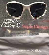 Oakley Jawbone STPL Sunglasses W/ Grey Vented Rare NIB New Lens Bundle - mg6AIkmFvRyBP_QdwPixbNg.jpg