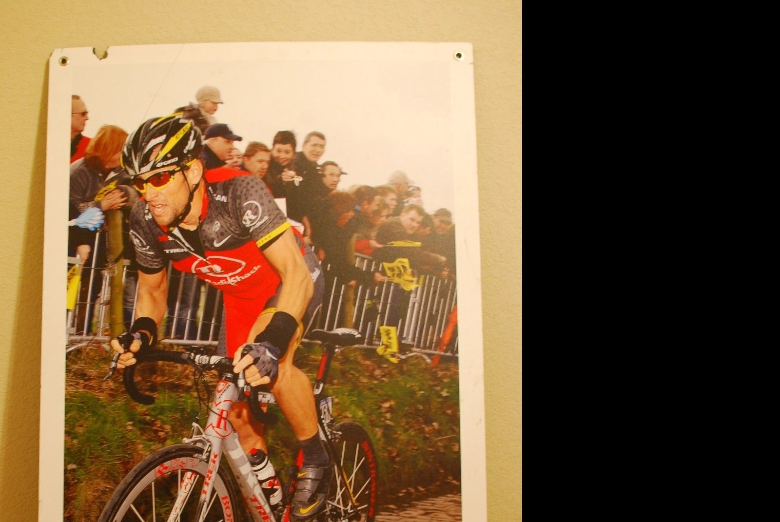 RARE Lance Armstrong Store Front Poster Displays - DFW Texas - mv3c.JPG