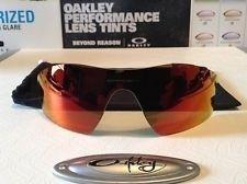 Oakley Radarlock Prizm Baseball Pitch replacement lens - NEW w/ Microfiber RARE - mYuCBDsXq74NREBPK_u1TEw.jpg
