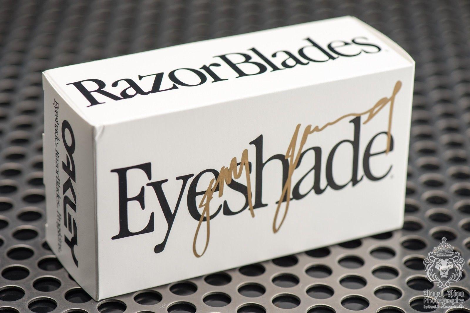 1 of 3 Signed Oakley Heritage Eyeshades by Jim Jannard - Seafoam with Grey Mint in Box - ND8_3472.jpg