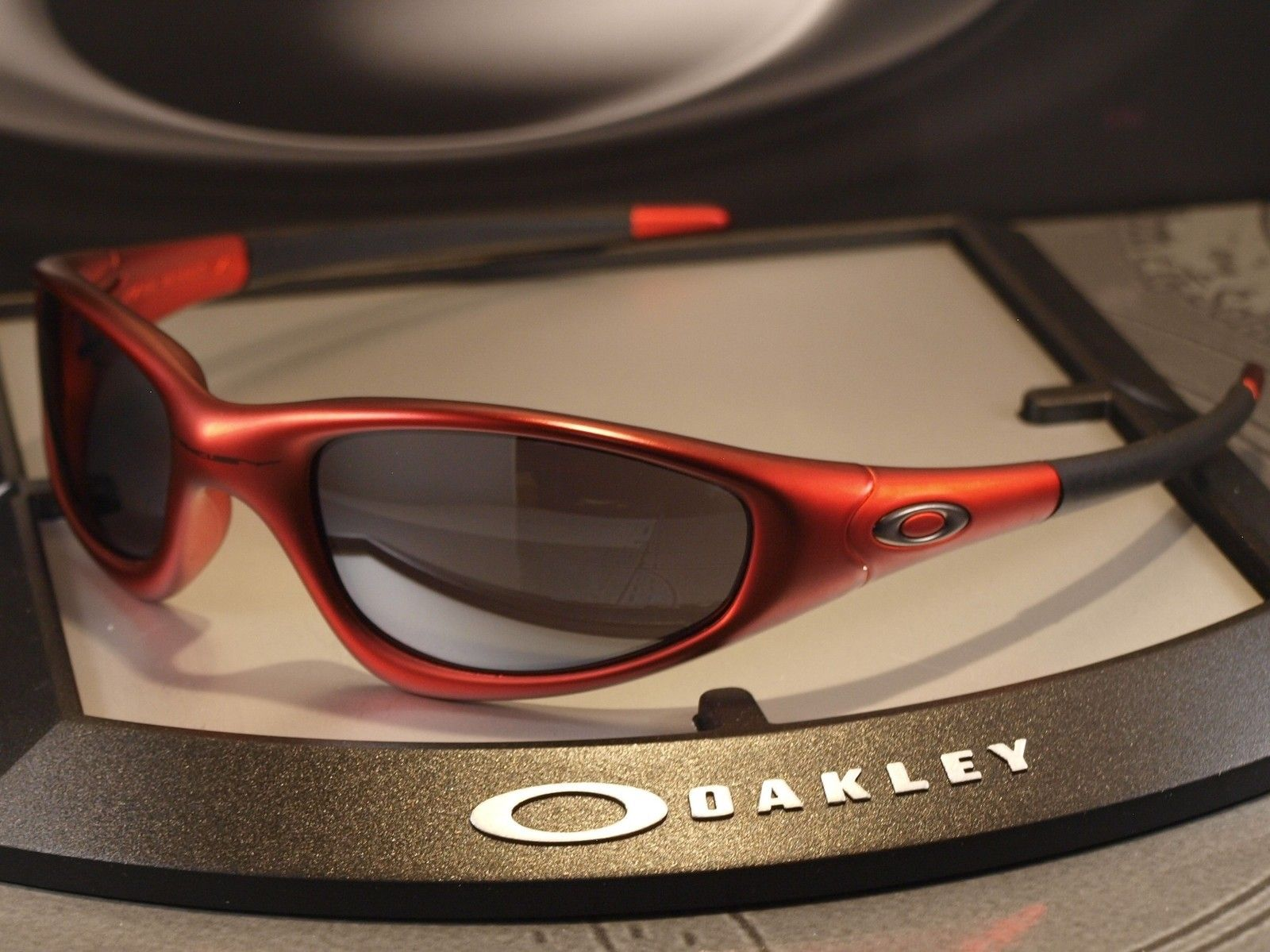 FS: OAKLEY New Straight Jacket ? RARE 04-268 ? BNIB ? Vintage ? FMJ Red ? - newstraightjktfmjred3.jpg
