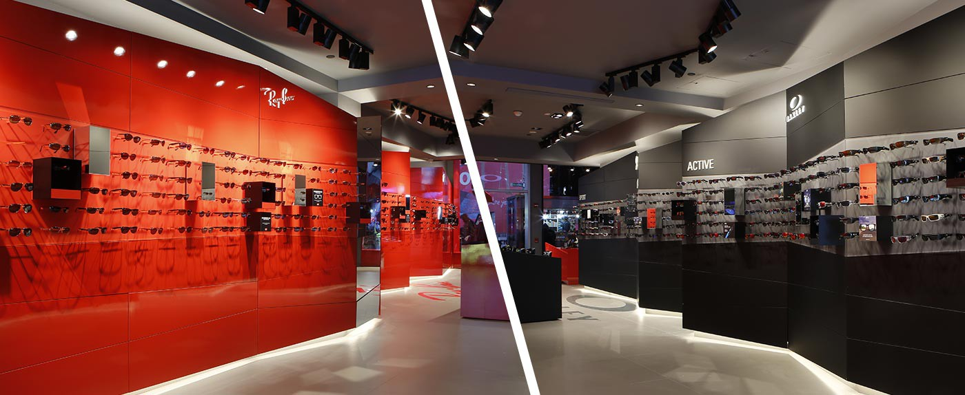 ray ban shops stores  first oakley/ray ban store opens in nyc ny times square